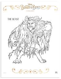 Small Picture Beauty and the Beast Mom Review Printable Coloring Pages