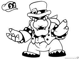 Coloring Pages Super Mario Coloring Pages Imagessuper