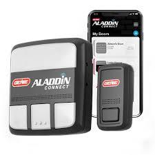 genie aladdin connect smart garage door