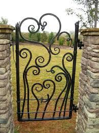 wide garden gate iron garden gate 4ft wide wooden garden gates