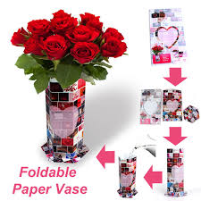 Paper Flower Designs Custom Painting Design Paper Gift Box Waterproof Paper Flower Vase Gift Set Gift Craft Oem Buy Paper Gift Box Gift Set Gift Craft Product On
