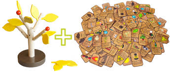 Making Wooden Games Stumped A Deckbuilding Game with Buildable Wooden Trees by 20