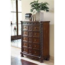 46 Ashley Furniture North Shore Dark Brown Bedroom Chest