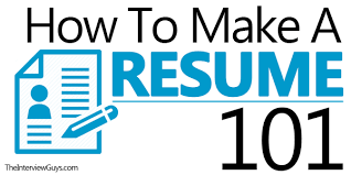 how to make a resume 101 examples included how do i make a resume