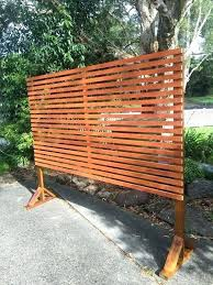 astonishing free standing outdoor fence l7976094 portable freestanding treated wooden picket