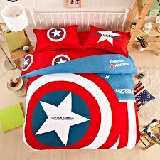 captain america bedding set