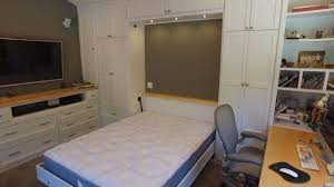 Office murphy bed Zoom Hampton Style Home Office Redchilliinfo Murphy Bed Home Office Cabinets Wilding Wallbeds