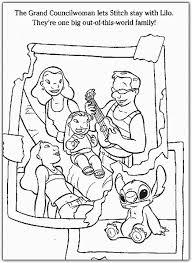 Gratis Lilo Stitch Kleurplaten Voor Kinderen 5