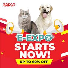 Our E-Expo is now live! Come shop till... - B2K Pet Care Singapore