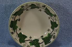 Wedgwood Napoleon Ivy 4 Cereal Bowls, 4 Fruit Bowls, 1 Rice Bowl |  #501010236