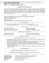 18 network administrator resume sample job and resume template