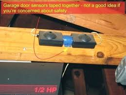 garage door sensor garage door opener sensor garage door sensor lighting idea garage door sensor red