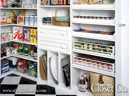 saint louis closet co can make your pantry as custom and functional as you like with everything from corner shelves to pull out racks and drawers