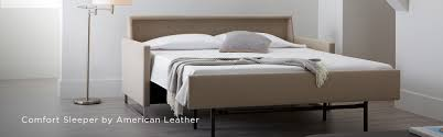 american leather partnered with robert and barbara tiffany to develop a sleeper sofa that was just as comfortable for sitting as it is for sleeping