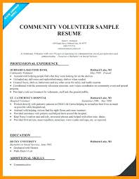 Community Service On Resumes - Tier.brianhenry.co