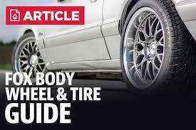 Wheel Rim Interchange Chart Fox Body Wheel And Tire Guide Lmr Com