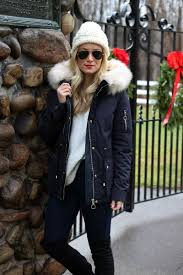 black top fur parka coat nordstrom winter style