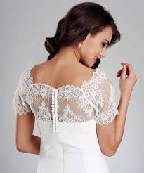 Harriet Lace Wedding Bolero Bridal Jacket