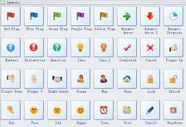Gantt Chart Milestone Symbol Gantt Chart Symbols Basic Gantt Chart Shapes