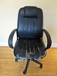 office chair reupholstery. How To Reupholster An Office Chair With Arms Diy Reupholstering The Old Practical Mama Reupholstery S
