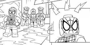 Spiderman Disegni Lego Da Colorare Disegni Da Colorare E Stampare
