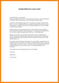 Letter For Maternity Leave Sample Magdalene Project Org