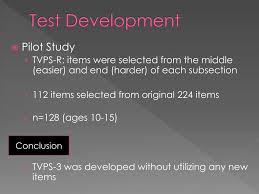 ppt test of visual perceptual skills 3 rd edition powerpoint presentation id 5757598