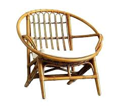 N Rattan Wicker Chair Bamboo Armchair Queen  Furniture Dark Chairs Full