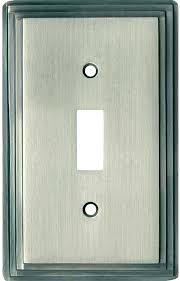 brushed nickel light switch covers plates art satin home depot plate wall