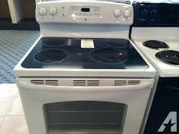 washgton amana glass top stove burner not working