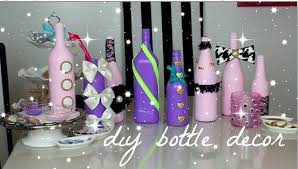 How To Decorate A Bottle Of Wine DIY wine bottle decor YouTube 64