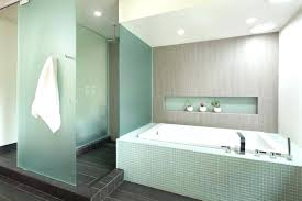 frosted glass lens frosted glass lens frosted glass lens bathroom modern with shower textured accent tiles