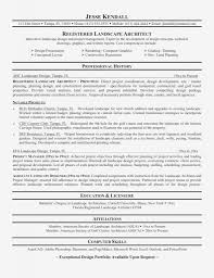 Fascinating Landscape Architect Resume Objective With