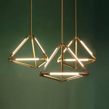 diamond pendant light modern diamond pendant light led personality creative diamond pendant light
