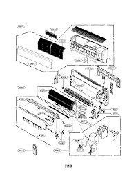 Lg model ls240he air conditioner room genuine parts rh searspartsdirect lg air conditioner parts diagram parts conditioner air lg listmodellwhd8000ry6