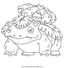 Disegno Florizarre3pokemon Personaggio Cartone Animato Da Colorare