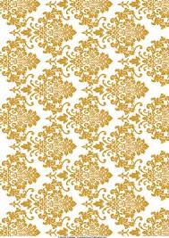 Gold Damask Background White Gold Damask Background