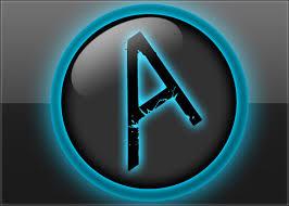 Templates For Photoshop Cs6 Photoshop Psd Template Shiny Blue Logo Aquul