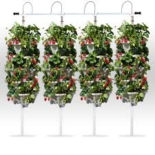 4 tower diy vertical hydroponic garden kit