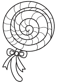 Small Picture Holiday Coloring Pages Lollipop Coloring Page Free Printable