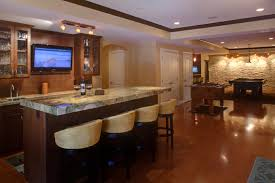 Finished Basement Bar Home Furniture And Design Ideas