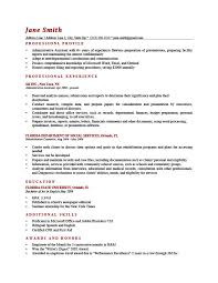 Examples Of Professional Resume Awesome How To Write A Professional Profile Resume Genius