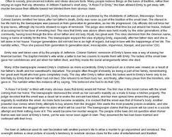 for emily literary analysis essay rose for emily literary analysis essay