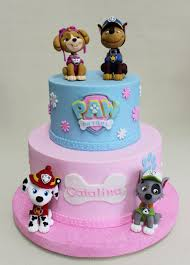 Imaginative Inspiration Paw Patrol Birthday Cake For Girl And
