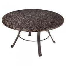 36 premium grani stone round table top galaxy black with coffee table frame