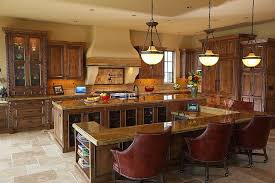 glamorous island kitchen table attached large open kitchen is thoroughly dominated by multi part island with f