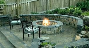 outdoor fireplace surround ideas