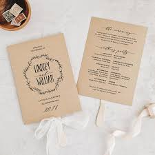 Ceremony Template Wedding Order Of Service Wording Template What To Include