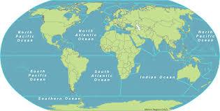marine regions in world ocean map  besttabletforme