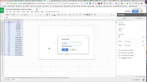 How To Create A Line Graph Chart In Google Sheets Grade 11 College Lesson 3 3